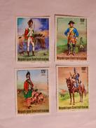RÉPUBLIQUE CENTRAFICAINE  1976  LOT# 7  FRENCH HUSSAR - Centrafricaine (République)
