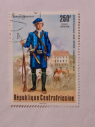 RÉPUBLIQUE CENTRAFICAINE  1976  LOT# 8  FRENCH HUSSAR - Centrafricaine (République)