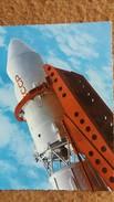 CPSM SERIE ESPACE URSS SATELLITE VOSTOK LANCEMENT ED SOFER - Astronomia