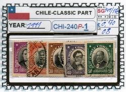 CHILE:CLASSIC# SERIE(S) (CHI 240P-1 (08) - Chile