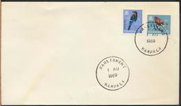 °°° UGANDA - POSTAL HISTORY - 1969 °°° - Uganda (1962-...)