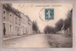 CPA - Mauves-sur-Huisne (61) - 13. Quartier De L'Eglise - Photo J. Bouveret - Edit. Compte - France