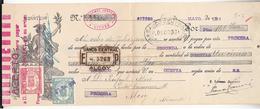 LOTE 1276  /// (C105) LETRA DE CAMBIO AÑO 1934 - DE SITGES A ALCOY (ALICANTE) TIMBRE CLASES 11ª Y 14ª BANCO CENTRAL - Letras De Cambio