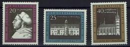 DDR 1967 - MiNr 1317-1319 -  Martin Luther, Lutherhaus, Schlosskirche In Wittenberg; - Ungebraucht