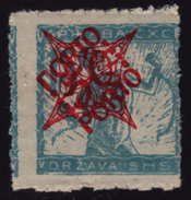 1920 - SHS Yugoslavia Slovenia - PORTO DUE Stamp - Lithography VERIGARI Chain Breaker 50 Vin MNH - Unused Stamps