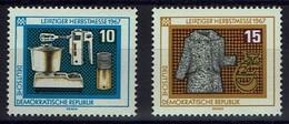 DDR 1967 - MiNr 1306-1307 -  Leipziger Herbstmesse - Ungebraucht