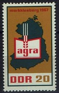 DDR 1967 - MiNr 1292 - Landwirtschaftsausstellung (AGRA), Markkleeberg - Landwirtschaft