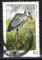 ZAMBIA - 1987 - SHOEBILL - USATO - Zambia (1965-...)
