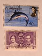 MAURICE / MAURITIUS 1969  LOT# 1  FISH - Maurice (1968-...)