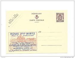 Publibel Neuve N° 893 ( Voyages WIRTZ  ROME 1950, Cité Du Vatican) - Publibels