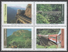 Brazil 2016 Serra Do Mar Paranaense Railway Train - Ungebraucht