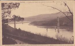 29---pont De TERENEZ--l'aulne (sur Lequel Est Construit Le Plus Beau Pont Suspendu De France---voir 2 Scans - France