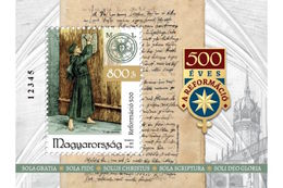 HUNGARY - 2017. S/S -  500th Anniversary Of The Reformation / Luther's Handwritten  MNH!!! - Blocks & Sheetlets