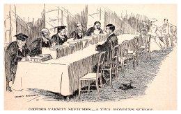 574 Oxford  University  A Viva, Honours School  Signed Graham  Hoggarth - Schools