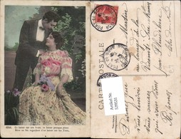 539531,Foto-AK Liebe Mann Frau Kleid Mode - Paare