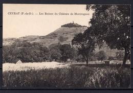 CEYRAT  Les Ruines Du Château De Montrognon - France