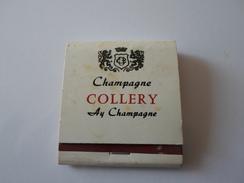 BOITE D ALLUMETTES CHAMPAGNE COLLERY  AY CHAMPAGNE   ****   A  SAISIR ******* - Boites D'allumettes