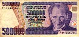TURQUIE 500000 LIVRES De L1970(93)  Pick 208 - Turkey