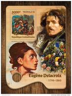 CENTRALAFRICA 2016 ** Eugene Delacroix Paintings Gemälde Peintures S/S - OFFICIAL ISSUE - A1645 - Sonstige