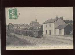 37 Fondettes Vue Générale église Gare édit. ND N° 8 Chemin De Fer Train Tramway à Vapeur - Fondettes