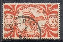 NOUVELLE-CALEDONIE N°233 Oblitération De KOUMAC - Gebraucht