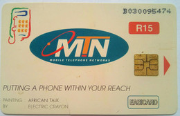 South Africa Phonecard MTN R15