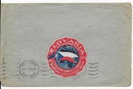 PRECURSEUR SLOVAQUIE (PERIODE TRANSITOIRE APRES AUTONOMIE) - 1939 - ENVELOPPE De PRESOV => PARIS - VIGNETTE AU DOS - Slovaquie