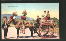 Cartolina Carretto Siciliano, Sizilianischer Einspänner - Unclassified