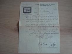 LETTRE ARGENTINE LOTERIA NACIONAL 1901 CASA FUNDADA - Factures & Documents Commerciaux