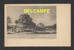 DF / 71 SAÔNE ET LOIRE / AUTUN / VUE DES RUINES DU TEMPLE DE PLUTON D'APRÈS UNE GRAVURE ANCIENNE - Autun