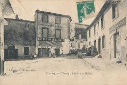 30 // GALLARGUES    Place Des Halles  Edit Ricard  BAR ET CAFE AU FOND , BOULANGERIE A DROITE  ** - Gallargues-le-Montueux