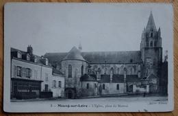 45 : Meung-sur-Loire - L'Eglise , Place Du Martroi - (n°8066) - Altri Comuni