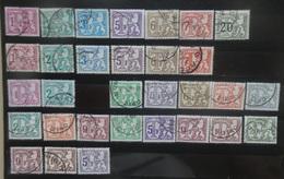 BELGIE  Strafport   1966 -88   Samenstelling Tussen Tx  66 En  83 P5a  Zie Foto     Gestempeld