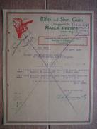 Lettre 1946 CALCUTTA - CALCUTTA ARMOURY COMPANY - Rifles And Shot Guns Manufactured By RAICK FRERES, LIEGE - Autres