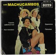 """Disque Ancien """"Los Machucambos"""" 4 Titres Cuando Calienta El Sol-Esperanza- Non Monsieur-Fabulosa - New Age"""
