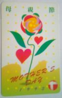 Hong Kong Phonecard HK$50 Mother's Day 1993