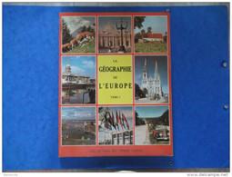 CHROMOS TINTIN - LA GEOGRAPHIE De L'EUROPE   Tome I  - ALBUM COMPLET -  Voir Photo - Altri