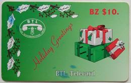 Belize Phonecard BZ$10 Holiday Greetings - Belize