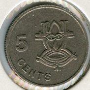 Salomon Solomon 5 Cents 1981 KM 3 - Salomon