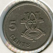 Salomon Solomon 5 Cents 1981 KM 3 - Solomon Islands