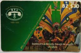 Belize Phonecard BZ$30 Culture - Belize