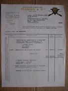Lettre 1970 LIEGE - VERREES & Cie - Manufacture D'armes Fines - Autres