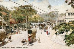 CEYLON - Sri Lanka -  A Street Scene Pettah Colombo - VG Etnic - Asia