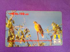 Sri Lanka Phonecard Rs 100 37SRLD - Sri Lanka (Ceylon)