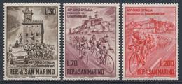 "San Marino 1965 Mi 830 /2 YT 642 /4 ** Start 48th ""Giro D'Italia"" In San Marino / Cyclists / Radrennfahrer - Wielrennen"