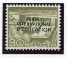 Switzerland, International Offices, 1950, BIE, International Education Bureau, 30 C., MNH, Michel 34 - Service