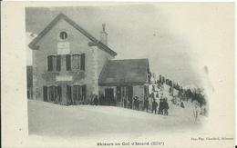Skieurs Au Col D'Izoard - Frankrijk
