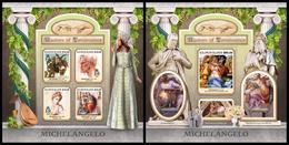 SOLOMON Isl. 2017 - Michelangelo. M/S + S/S - Art