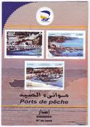 ALGERIE ALGERIA  2009 Notice Folder Ports De Pêche - Fishing Ports Fischereihäfen Puertos De Pesca - Marine Life