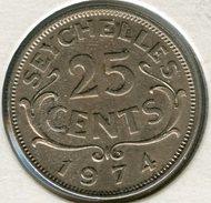 Seychelles 25 Cents 1974 KM 11 - Seychelles